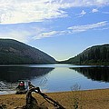 Fishing Conkle Lake by John Greaves