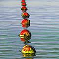Fishing Floats by Anne Mott
