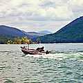 Fishing On Burton by Susan Leggett