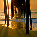 Fishing Pier And Surf II by Steven Ainsworth