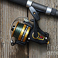 Fishing Rod And Reel . 7d13542 by Wingsdomain Art and Photography