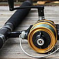 Fishing Rod And Reel . 7d13547 by Wingsdomain Art and Photography