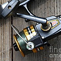 Fishing Rod And Reel . 7d13565 by Wingsdomain Art and Photography