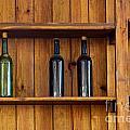 Five Bottles by Carlos Caetano