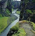 Fjardara Canyon by Dirk Wiersma