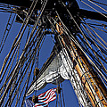 Flag In The Rigging by Garry Gay