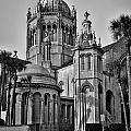 Flagler Memorial Presbyterian Church 3 - Bw by Christopher Holmes