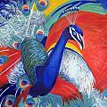 Flamboyant Peacock by Lisa Boyd