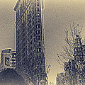 Flat Iron In Sepia by Alex AG