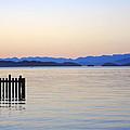 Flathead Lake at Dusk