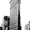Flatiron Building Bw3 by Scott Kelley