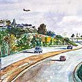 Flight To Bakersfield by Drina Fried