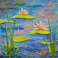 Floating Lilies by Carla Parris