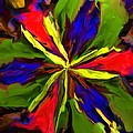 Floral Abstraction 090312 by David Lane