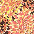 Floral Abstraction 18 by Sumit Mehndiratta