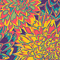 Floral Abstraction 22 by Sumit Mehndiratta
