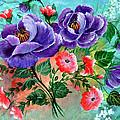 Floral Frenzy by Fram Cama