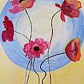 Floral Orb by Sonali Gangane