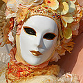 Floral Queen Portrait 2 by Donna Corless