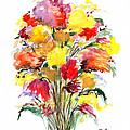 Floral Seven by Lynne Taetzsch