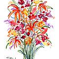 Floral Six by Lynne Taetzsch