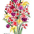 Floral Three by Lynne Taetzsch