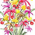 Floral Twelve by Lynne Taetzsch