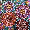 Floral Window by Bob Craig