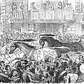 Florence: Horse Race, 1857 by Granger