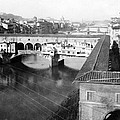 Florence Italy - Vecchio Bridge And River Arno by International  Images