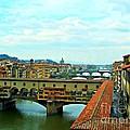 Florence Shopping Bridge by Tisha Clinkenbeard