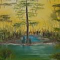 Florida Swamp by Katheryn Napier