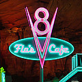 Flo's V8 Cafe - Cars Land - Disneyland by Heidi Smith
