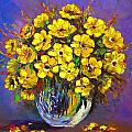 Flower Are Yellow by Artist SinGh