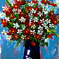 Flower Arrangement Bouquet by Patricia Awapara