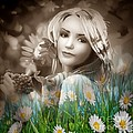 Flower Arround Me by Lalita Singh