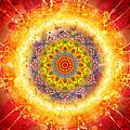 Flower Chakra Mandala by Sampad Art