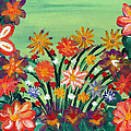 Flower Garden by LeeAnn McLaneGoetz McLaneGoetzStudioLLCcom