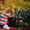 Flower Girl by William Bartholomew