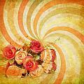 Flower Pattern Retro Style by Setsiri Silapasuwanchai
