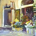 Flower Shop In Italy by Elizabeth Taft