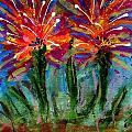 Flower Towers by Angela L Walker