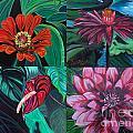 Flowers 4 by David Karasow
