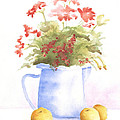 Flowers And Lemons by Susan Mahoney