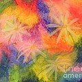 Flowers On Color by Cynthia Campbell
