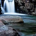Flowing Falls by Justin Albrecht