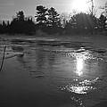 Flowing Water At Sunrise by Kent Lorentzen