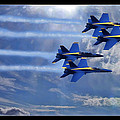 Fly The Skys Blue Angels by Blake Richards