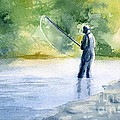 Flyfishing by Eleonora Perlic