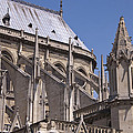 Flying Buttress At Nortre Dame Cathedral by Jon Berghoff